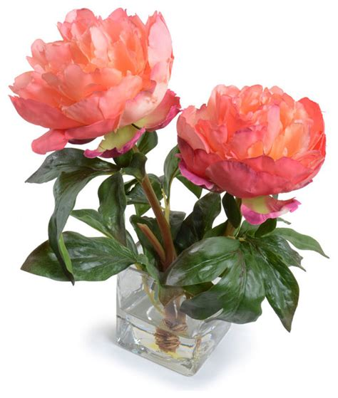 peony floral arrangement peony arrangement traditional artificial flower