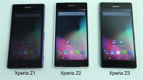 Hp Sony Experia Z1 Z2 Z3 sony aosp program to bring lollipop to xperia z1 z2 z3 compact