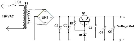 transistor 2n3055 in parallelo how to build high current power supply circuit diagram