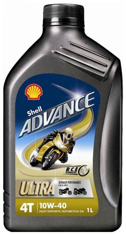 Shell Advance Ax7 1l Sae 10w 40 shell advance 4t ultra 10w 40 synthetic liter