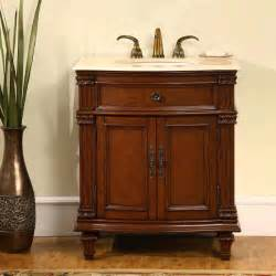 Bathroom Vanity Cabinets 30 5 Perfecta Pa 124 Bathroom Vanity Single Sink Cabinet Cherry Finish Marble Bathroom