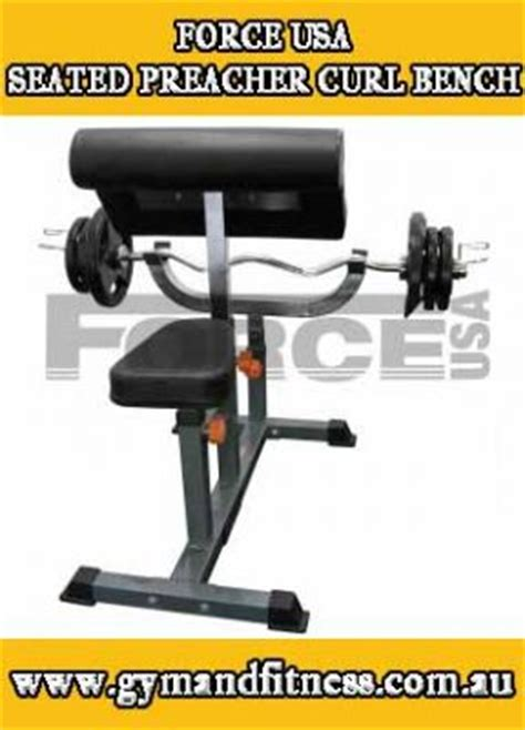 preacher bench for sale for sale force usa seated preacher curl bench