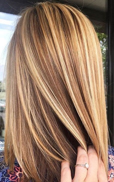brunette hairstyles with blonde highlights brown hair with blonde highlights
