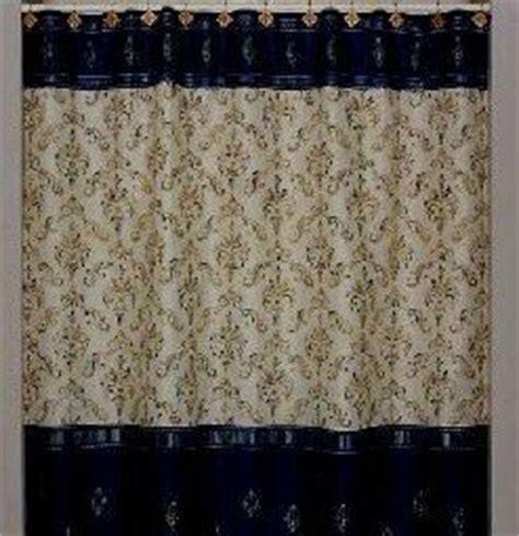 gold fabric shower curtain com royal scroll black fabric shower curtain gold