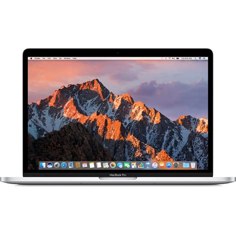 Macbook Pro 13 3 apple 13 3 quot macbook pro silver late 2016 mluq2ll a b h