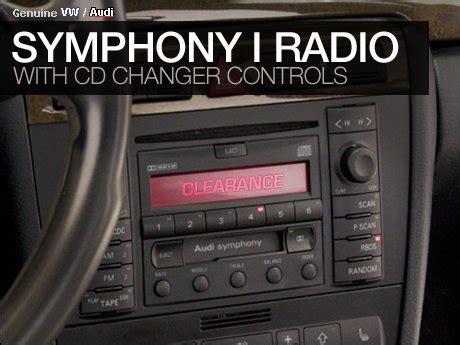 Audi Gamma Code Eingeben by Ecs News Audi Symphony I Radio