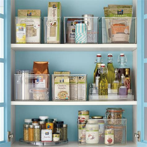 container store interdesign linus pantry binz the container store
