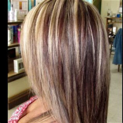 do lowlights fade blonde streaks blondes and shades on pinterest