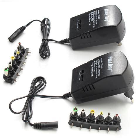 alimentatore 12v 5v multi voltage power adapter 2500ma 3v 4 5v 5v 6v 9v 12v dc
