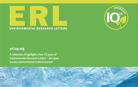 environmental research letters articles news school of geography and the environment 1205