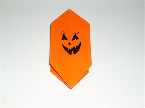 Origami Pumpkins - origami pumpkins food ideas