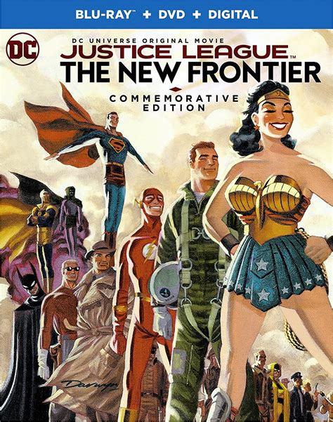 movie justice league new frontier justice league the new frontier commemorative blu ray edition