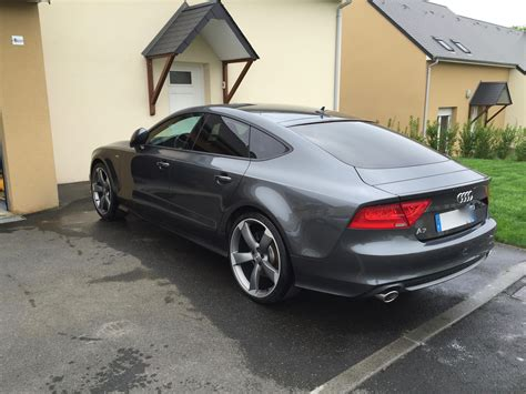 Audi A7 Biturbo Black Edition by Ma Nouvelle Audi A7 Bi Turbo 313 Ch Black Edition A7 Mk1