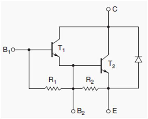 darlington transistor diode power semiconductor device transistor