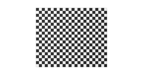 grid pattern paper roll black and white checkered squares wrapping paper zazzle