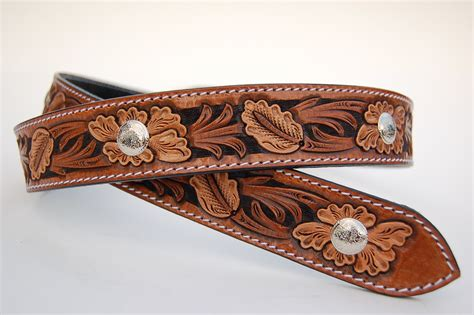 Handcrafted Western Belts - new creation leathercraft custom handmade leather belts