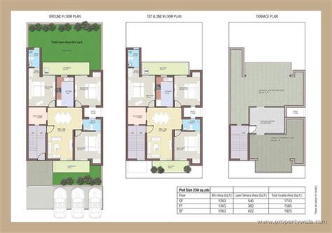 home maps design 400 square yard bptp park elite floors sector 85 faridabad
