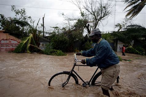 catastrophic hurricane matthew damage could hurricane matthew causes catastrophic damage in haiti
