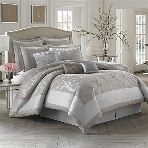 bed bath and beyond king comforter sets buy austin horn classics 4 piece king comforter set from