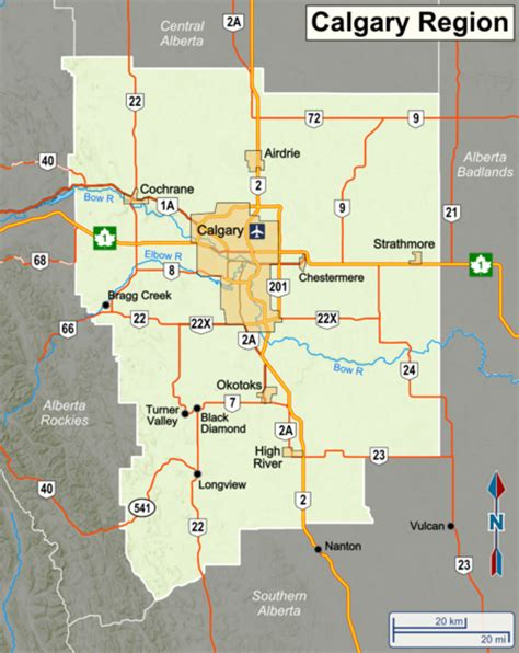 Calgary Outline by Calgary Region Travel Guide At Wikivoyage
