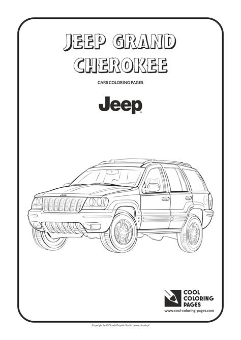 coloring pages jeep grand cherokee jeep grand cherokee coloring sheets coloring pages