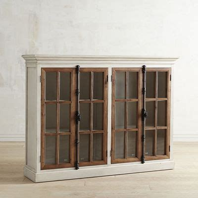 pier one corner cabinet cremone antique white 4 door cabinet pier 1 imports