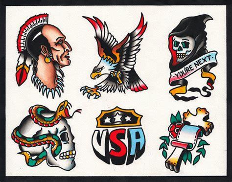 tattoo flash native american items similar to native american eagle skull snake