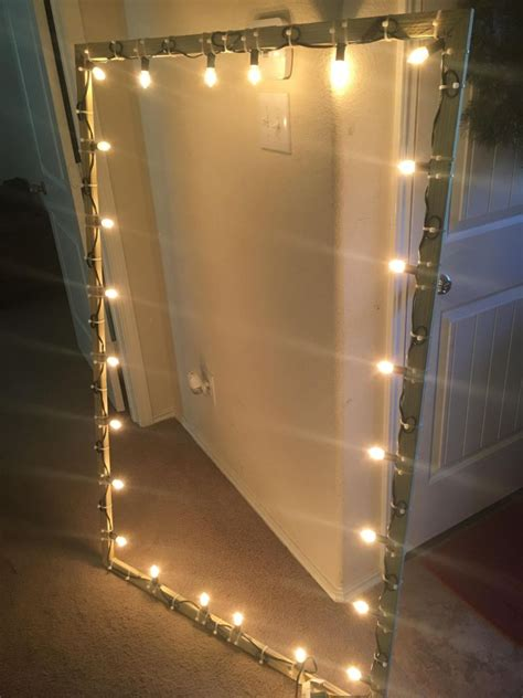 these diy lighted window frames are easy to install