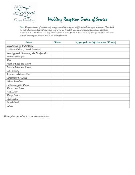 Wedding Reception Order by Pin By Firewoman Steph On Wedding Reception Ideas