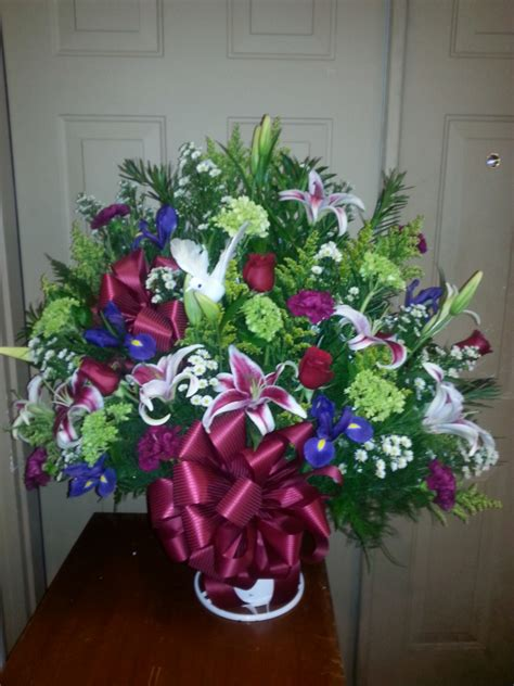 Funeral Baskets by Funeral Baskets Abigail S Gifts Lenoir Nc