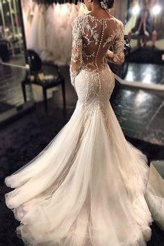 Best 25  Mermaid wedding gowns ideas on Pinterest