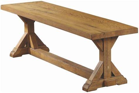 white oak bench douglas vintage white oak bench 107223 coaster furniture