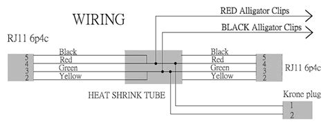 krone rj11 wiring diagram wiring automotive wiring diagrams