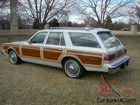 Chrysler Station Wagon by 1981 Chrysler Town Country Station Wagon