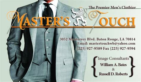 the master s touch menswear store s clothing 3052