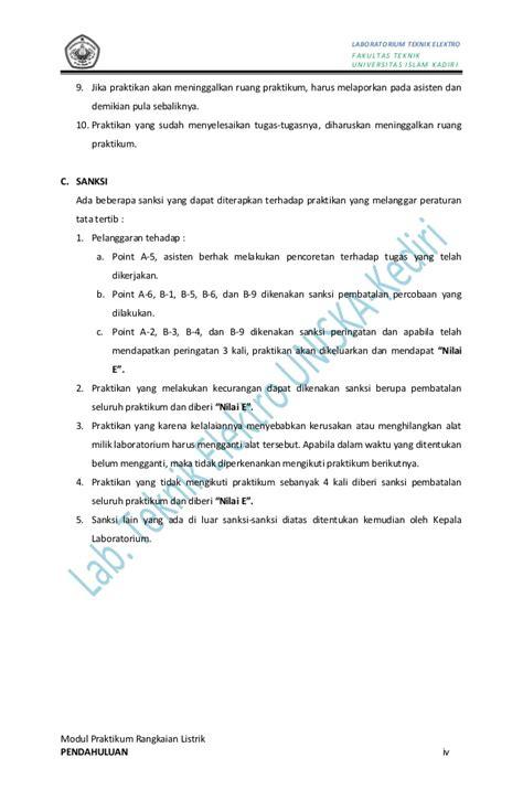 laporan praktikum membuat motor listrik sederhana modul praktikum rangkaian listrik rev juli 2013