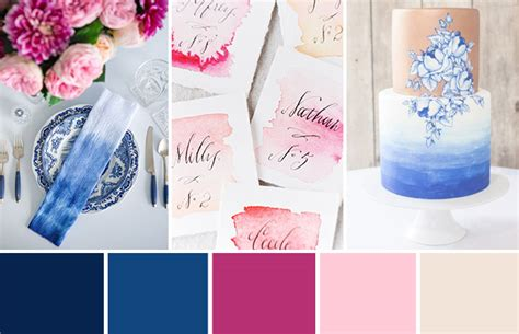 modern meets tradition a different blue pink wedding