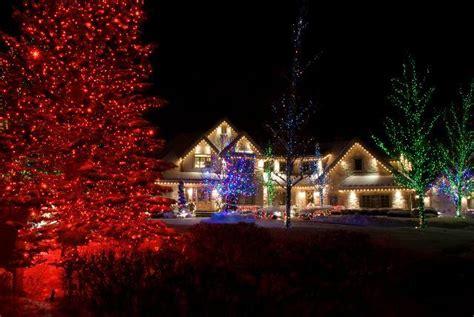 winter illuminations christmas light installation