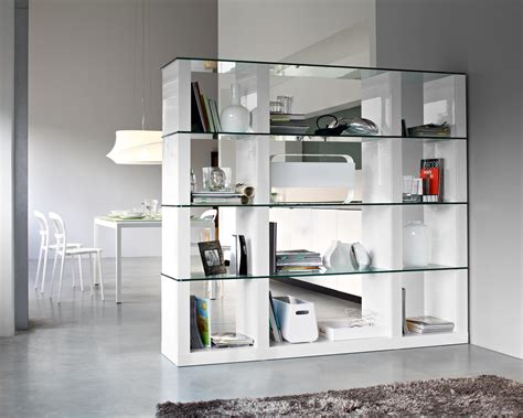 glass modern bookcase modern bookcase for your house