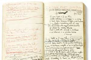 Letter Lyrics Nick Cave Notebook Of Lyrics For Nick Cave S Song O Malley S Bar Released In 1993 Abc News