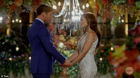 this bachelor couple says the show s producers don t the bachelor australia s emily simms has another dig at