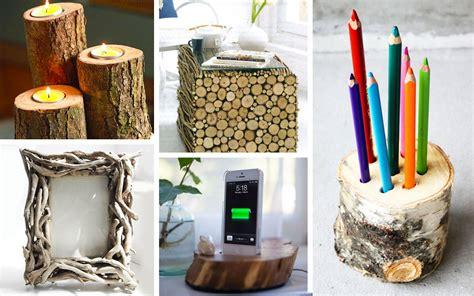 oggetti per la casa fai da te oggetti fai da te con ceppi di legno fotogallery donnaclick