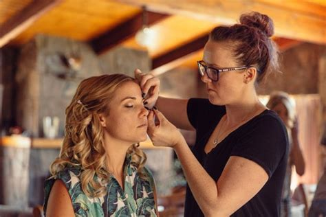 Wedding Hair And Makeup Mansfield by Modern Rustic Country Wedding Polka Dot