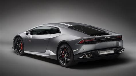 grey lamborghini wallpaper lamborghini huracan lp 610 4 gray supercar rear view