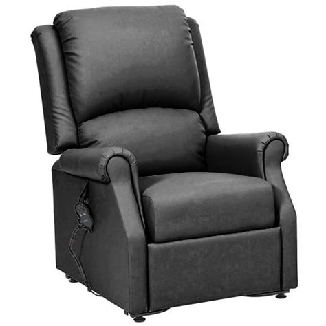Chicago Recliner Chair by Chicago Rise And Recliner Chair Black Pvc Riser