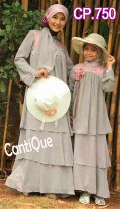 Cp Navy Muslim Ibu Dan Anak gamis cantik cp750 ibu dan anak busana muslim pesta