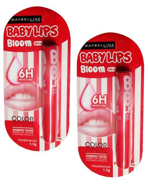 Maybelline Lip Balm Color Bloom maybelline color bloom pink blossom lip balm 1 7 gm pack