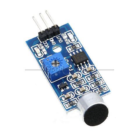 Sensitive Microphone Sound Sensor Detection Module For Arduino Avr microphone sensor high sound sensitivity detection module for arduino diy 3pin ebay