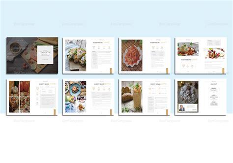 indesign template recipe recipe cookbook catalog template in psd word publisher