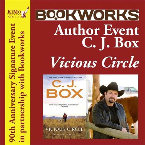 vicious circle a joe pickett novel books author event c j box vicious circle free 90th